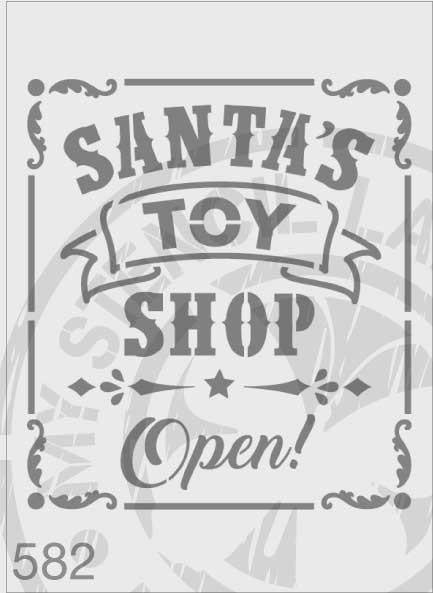 Santa's Toy Shop Open! Christmas - MSL 582