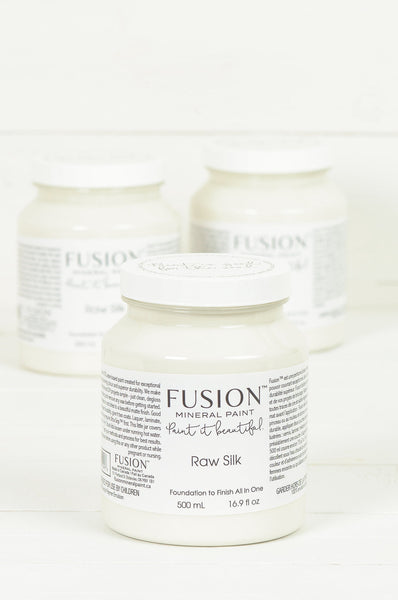 Raw Silk - Fusion Mineral Paint Paint > Fusion Mineral Paint > Furniture Paint 500ml