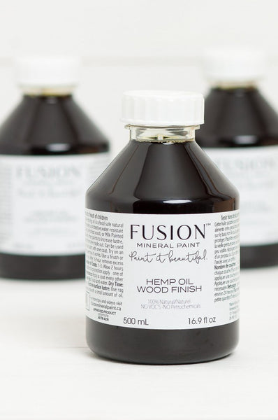 Hemp Oil Wood Finish 500ml - Fusion Paint > Furniture Oil > Wood Oil