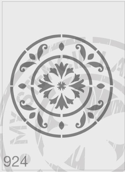 Centrepiece - MSL 924 Stencil Medium - 140mm cutout (sheet size 155x155mm)