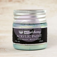 Art Alchemy - Opal Magic - Acrylic Paints- 50ml Paint > Art Alchemy > Opal Magic Blue-Gold