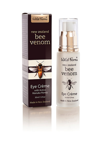 Wild Ferns Bee Venom Eye Creme (with Active Manuka Honey) Skincare > Wild Ferns > Bee Venom