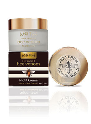 Wild Ferns Bee Venom Night Creme (with Active Manuka Honey)
