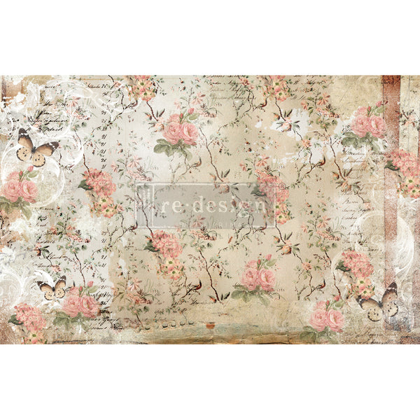 Botanical Imprint  -  Decoupage Decor Tissue Paper