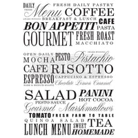 Re-design Decor Transfer -Delicious Menu