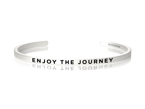 Enjoy the Journey Jewellery > Affirmation Bracelet > Mantra Bands Silver