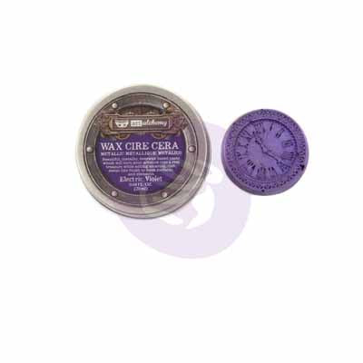 Finnabair Metallique Waxes - 20ml wax > metallic wax > decorative wax > Electric Violet