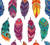 Feathers Rice Paper Set