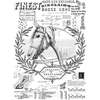 Re-design Decor Transfer - Fine Horsemen Transfers > rub on transfers > redesign transfers