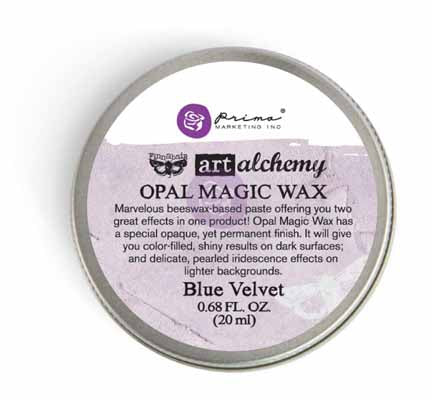 Art Alchemy-Opal Magic Wax-Blue Velvet