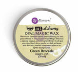 Art Alchemy-Opal Magic Waxes - 20ml Wax > decorative wax > Opal Magic Wax Green Brocade