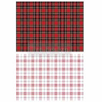 Re-design Decor Transfer - Gingham Red