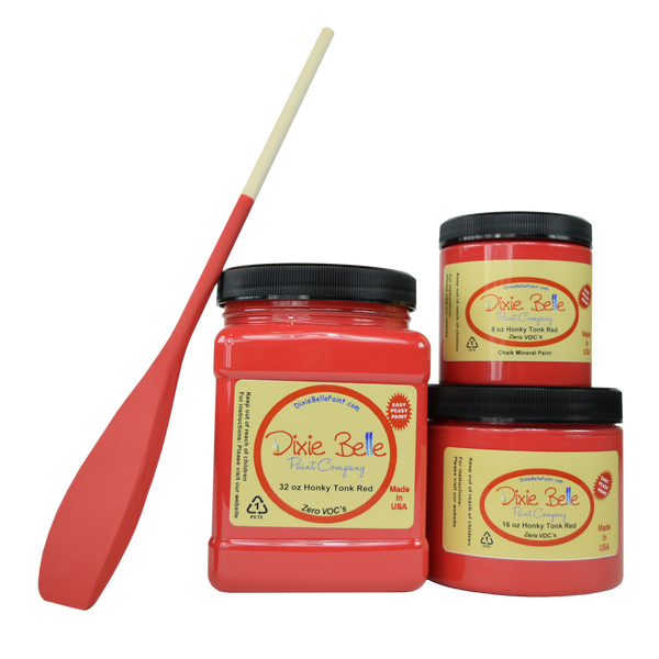 Honky Tonk Red - Dixie Belle Chalk Mineral Paint