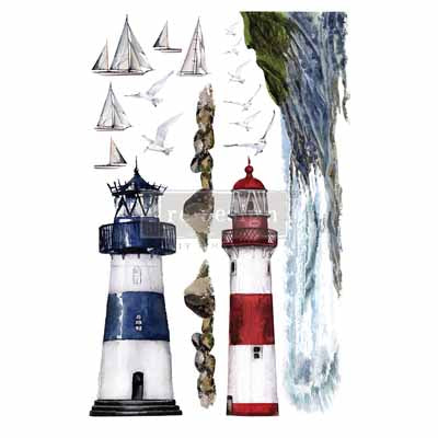 Re-design Decor Transfer - Lighthouse