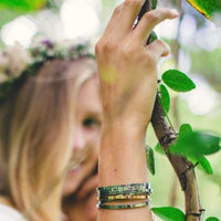 Be True. Be You. Be Kind. Jewellery > Affirmation Bracelet > Mantra Bands