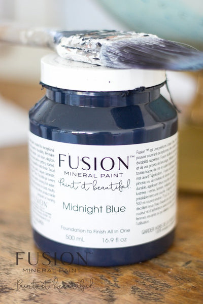 Fusion - Midnight Blue Paint > Fusion Mineral Paint > Furniture Paint 500ml