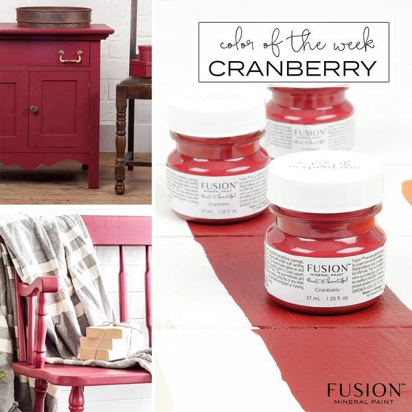 Cranberry - Fusion Mineral Paint Paint > Fusion Mineral Paint > Furniture Paint 500ml