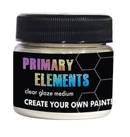 Primary Elements Clear Glaze Medium-1Oz