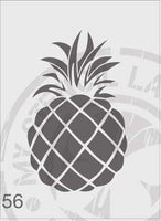 Pineapple - MSL 056 Stencil Small (Sheet Size 95x200mm)