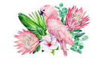 Pink Galah - Aussie Decor Transfer