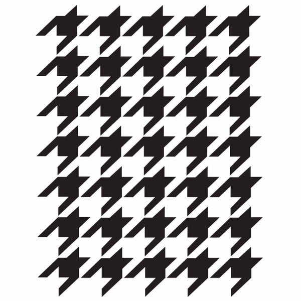Dixie Belle Houndstooth Stencil - 16x20in ( 40x50cm)