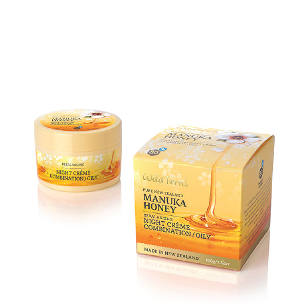 Manuka Honey Rebalancing Night Creme - Combination/Oily Skin Care