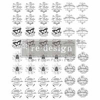 Re-design Knob Transfers (click to see full range) Transfers > rub on transfers > redesign transfers French Maison