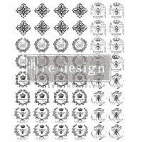 Re-design Knob Transfers (click to see full range) Transfers > rub on transfers > redesign transfers Parisienne