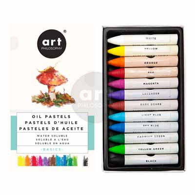 WATER SOLUBLE OIL PASTELS – BASICS