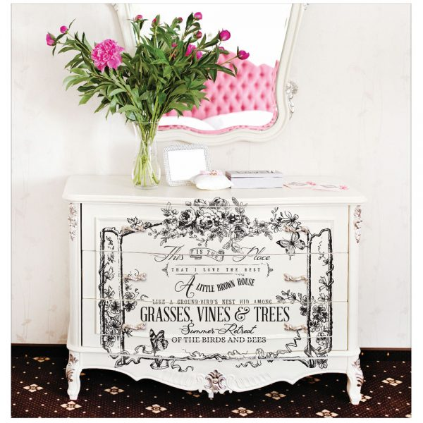 Re-design Decor Transfer - The Birds and the Bees