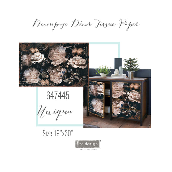 Uniqua -  Decoupage Decor Tissue Paper