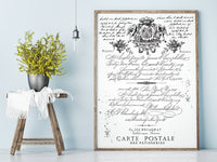 Re-design Decor Transfer - Parisian Letter Transfers > rub on transfers > redesign transfers