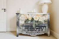 Re-design Decor Transfer - White Fleur Transfers > rub on transfers > redesign transfers