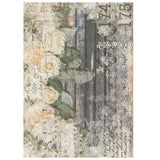 Re-design Decor Transfer - White Fleur