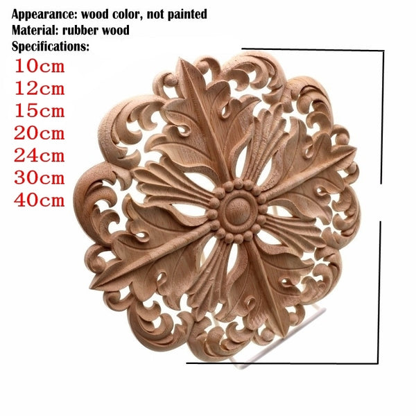 Wooden Applique 1