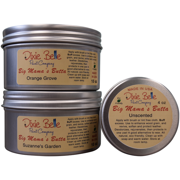 Big Mama's Butta (click for range) furniture wax > furniture oil > furniture butta 4oz / Unscented