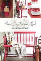 Cranberry - Fusion Mineral Paint Paint > Fusion Mineral Paint > Furniture Paint 37ml