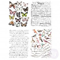 Re-design Transfer - Parisian Butterflies Transfers > rub on transfers > redesign transfers