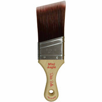 Dixie Belle Synthetic Brushes Paint Brush > Dixie Belle > Flat brush Mini Angle
