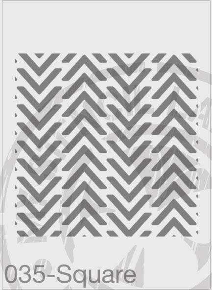Chevron Repeatable Pattern- MSL 035