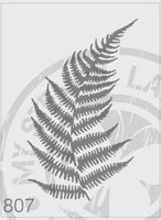 Fern - MSL 807 Stencil Medium - Sheet Size 140 x 210mm)