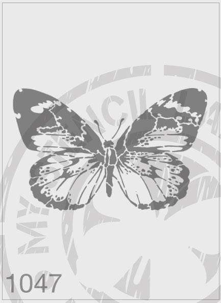Butterfly - MSL 1047 Stencil Medium - Sheet Size 140 x 210mm)