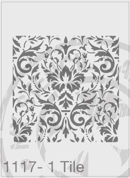Damask Repeatable Pattern and Variations - MSL 1117