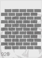 Bricks Repeat Pattern - MSL 928