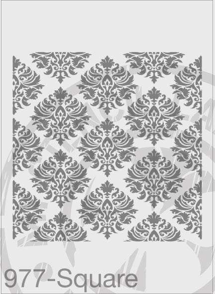 Damask Repeatable Pattern  - MSL 977