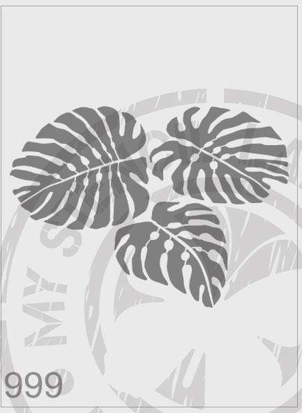 Monsterio Plant - MSL 999 Stencil Medium - (Sheet Size 140 x 220mm)