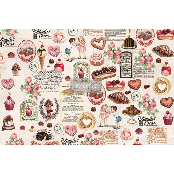 Super Decadent -  Decoupage Decor Tissue Paper