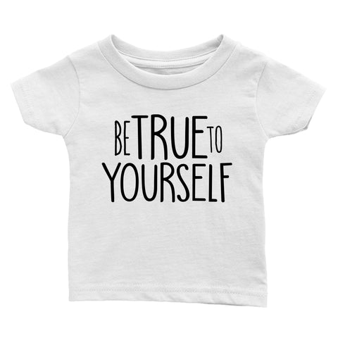 Be True to Yourself T-Shirt - White - THE CHEVRON HEART