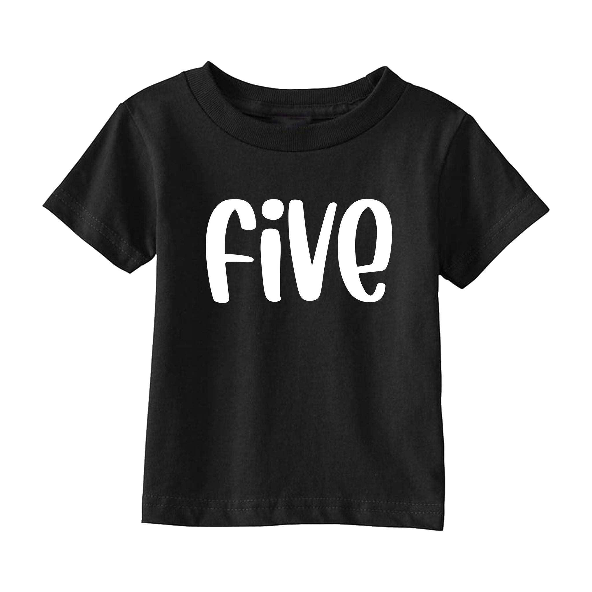 Fifth Birthday T-Shirt - THE CHEVRON HEART