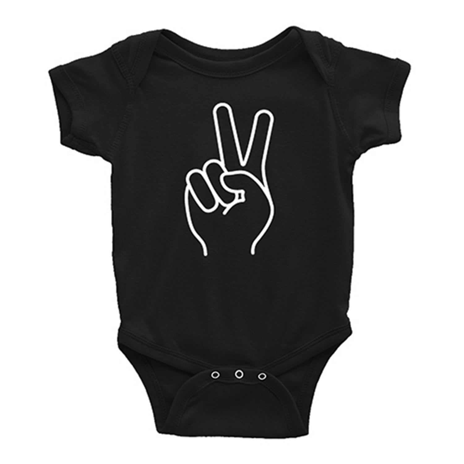 Peace T-Shirt/Onesie - THE CHEVRON HEART